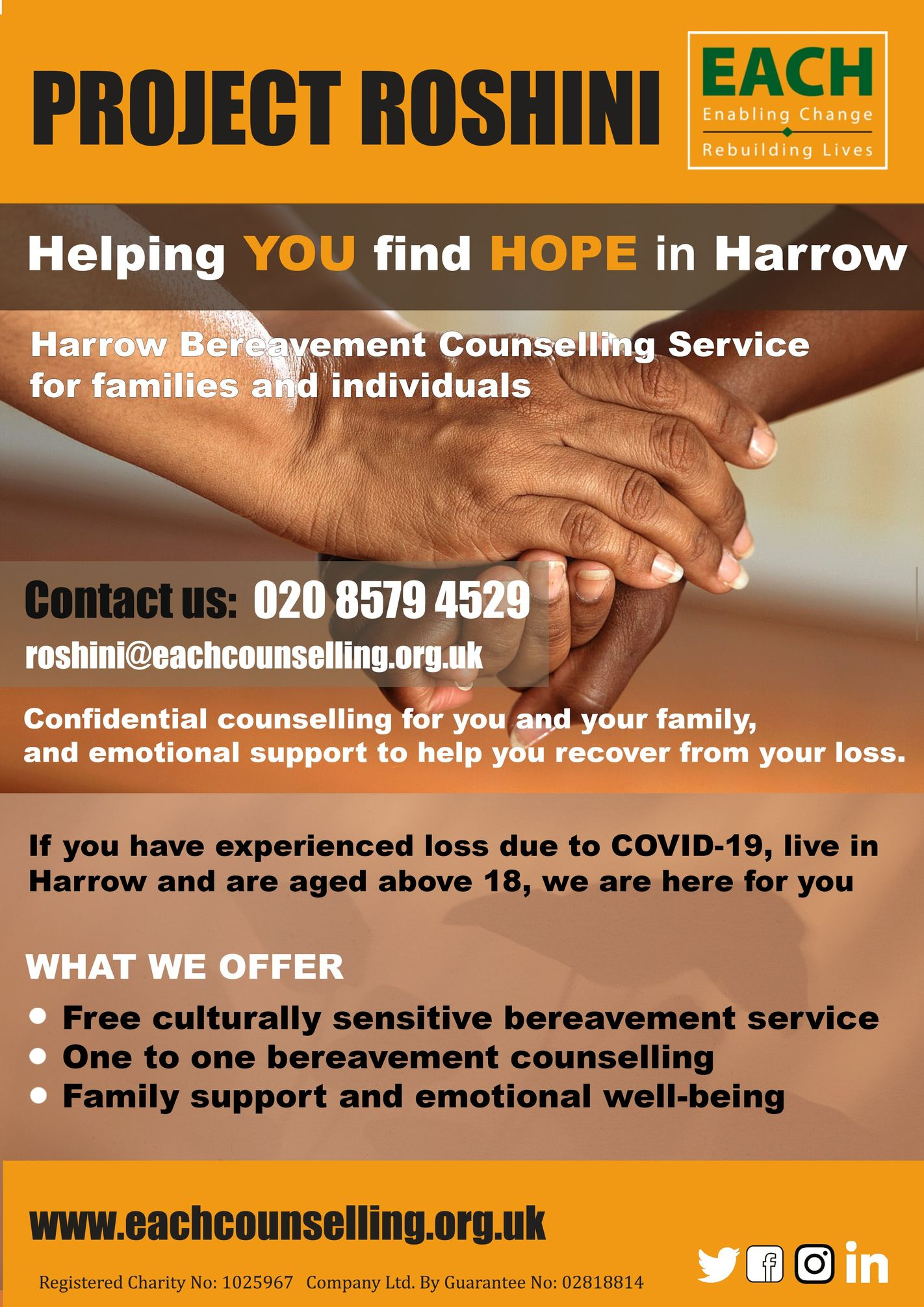 Helping you find hope in Harrow